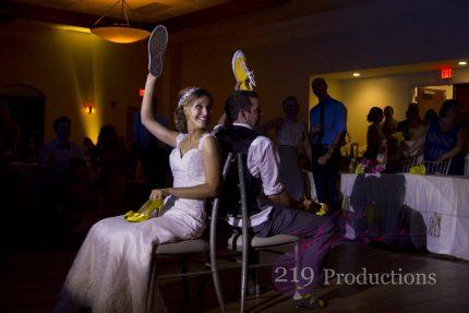 Wedding DJ Signature Banquets Shoe Game Spotlight Highlight