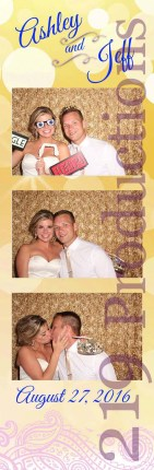 Villa Cesare Wedding Photo Booth Bride and Groom
