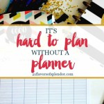 It's Hard to Plan Without a Planner