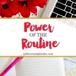 The Power of the Routine