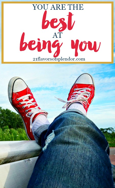 God created us all uniquely, differently, and that should be celebrated. It is okay for you to just be you because you are the best at being you. Click...