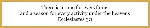 Ecclesiastes 3:1 on 3 keys to tidying up your routine at 21flavorsofsplendor.com