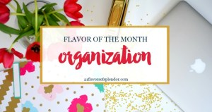 Flavor of the Month Organization