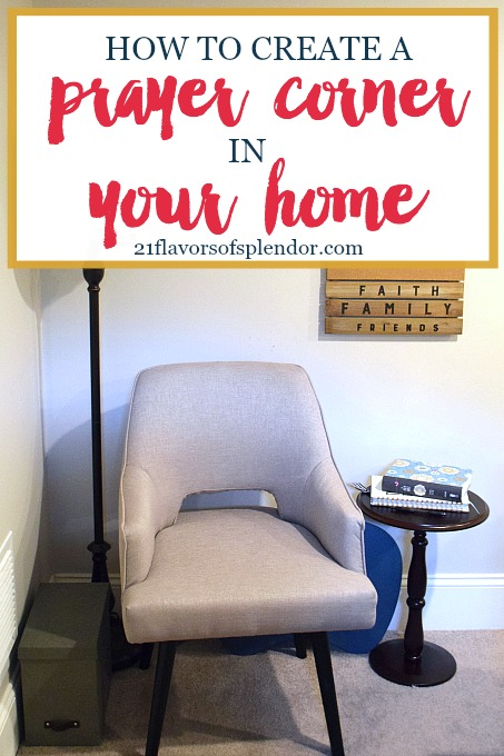 Having a special place in our homes to pray is so important. How to create a prayer corner in your house, no matter the size of your house. Click...