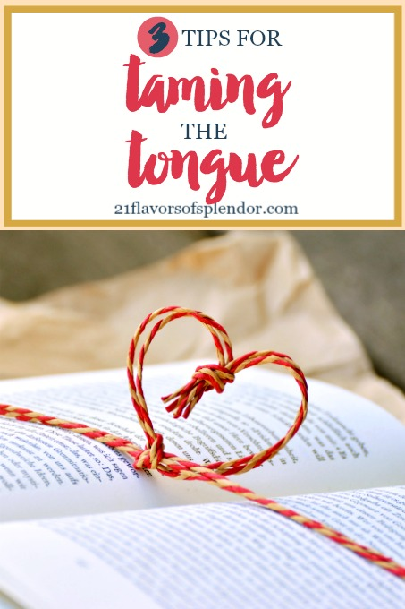 Our words have power. They have the power to build people up and to tear people down. So use these three tips for taming the tongue. Click... #personalgrowth #tamingthetongue #faith