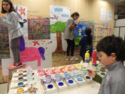 21kolore Taller De Pintura Creativa Acompañada Ingles Aleman Infantil09