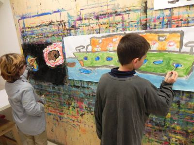 21kolore Taller De Pintura Creativa Acompañada Ingles Aleman Infantil10