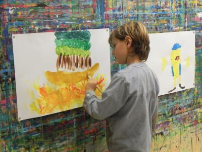 21kolore Taller De Pintura Creativa Acompañada Ingles Aleman Infantil13