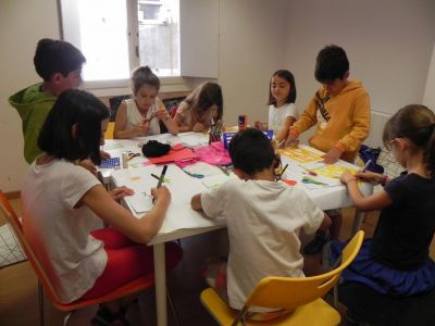 Taller De Collage Colonias De Verano 2016 03