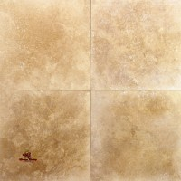 Cappuccino Honed and Filled Travertine Floor | Los Angeles