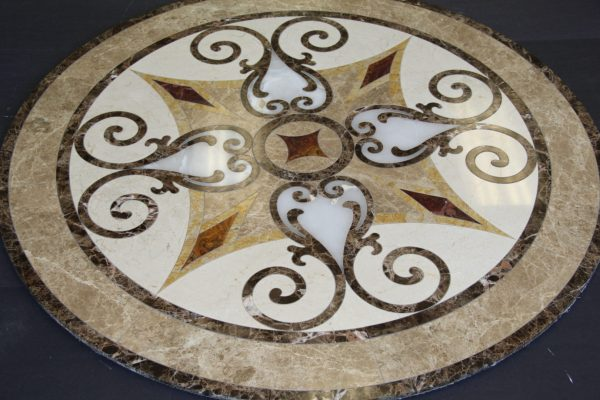Marble Medalions In Anaheim Ca - Medallions Design