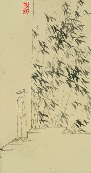 【怡然读画】<wbr>老树画画<wbr>意味意趣老道天成(之一)