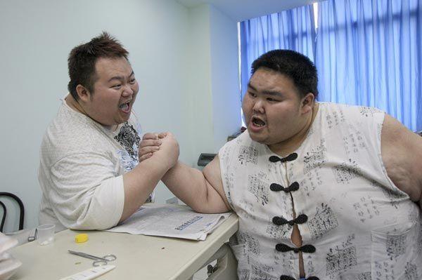"""中国人""""未富先胖""""的负担"""