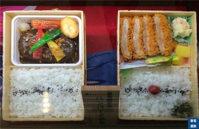 对比日本和中国高铁盒饭 网友直呼心酸
