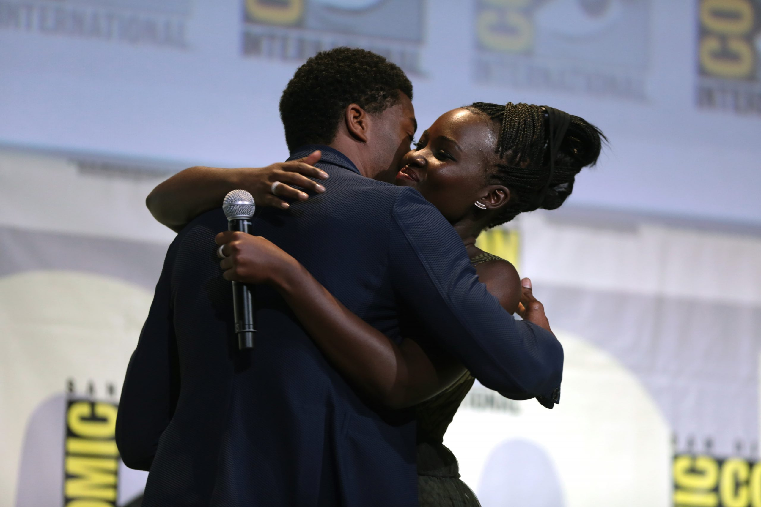 Lupita Nyong'o: For the beloved Chadwick Boseman #TakeYourTimeButDontWasteYourTime