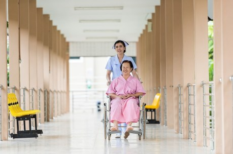 Bsc Nurses expect to offer services in equiped hospitals like their peer pictured.