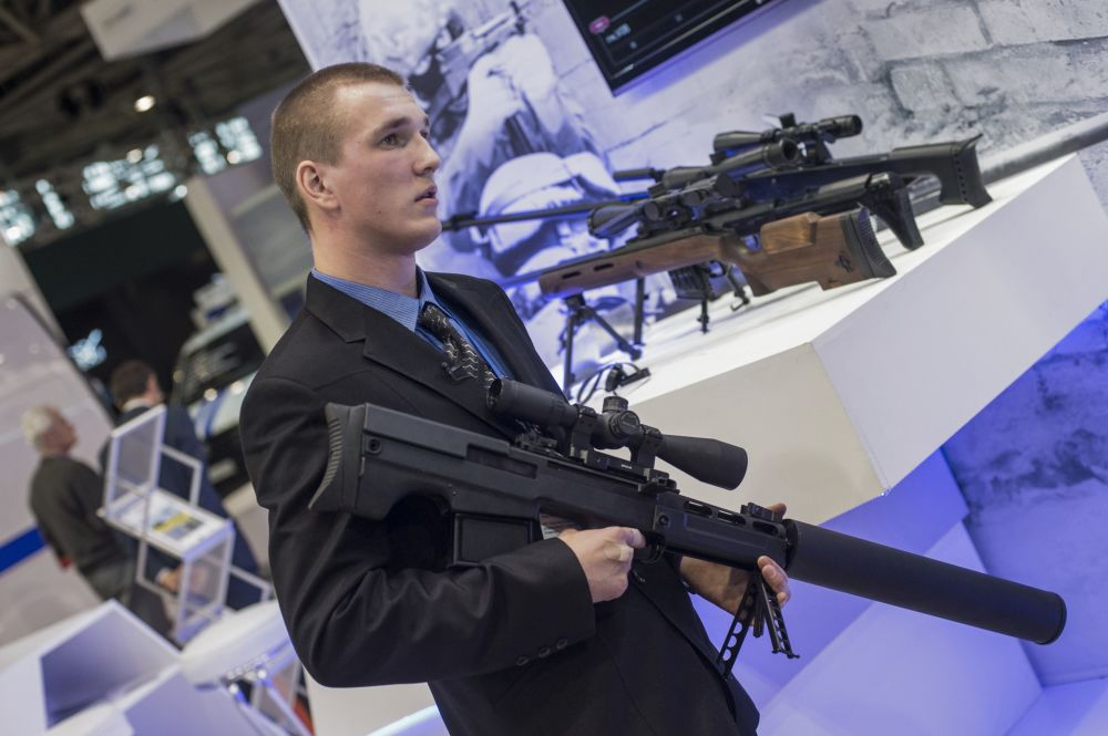 VKS Bullpup Sniper Rifle Spotted At Interpolitex 2015  21st Century Asian Arms Race