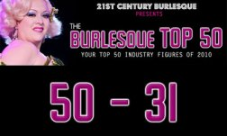 The Burlesque Top 50 2010: 50 - 31