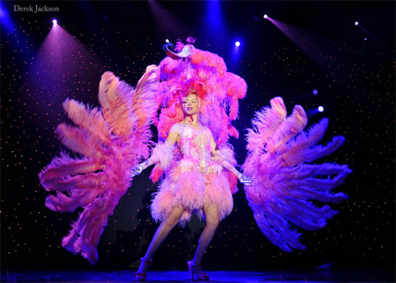 Imogen Kelly at the Burlesque Hall of Fame Weekend 2012. ©Derek Jackson