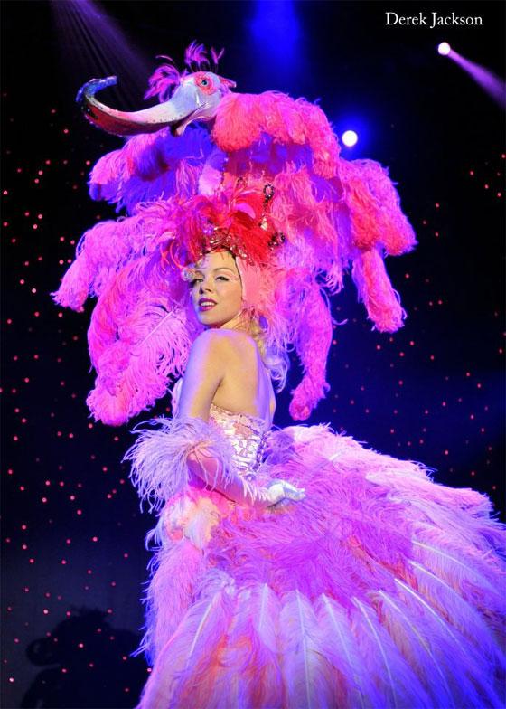 Imogen Kelly at The New Orleans Burlesque Festival 2012.  ©Derek Jackson