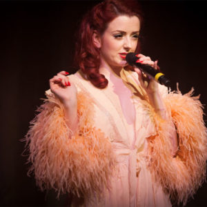 Miss Polly Rae stars in Between the Sheets at the Hippodrome Casino, London. ©Tigz Rice