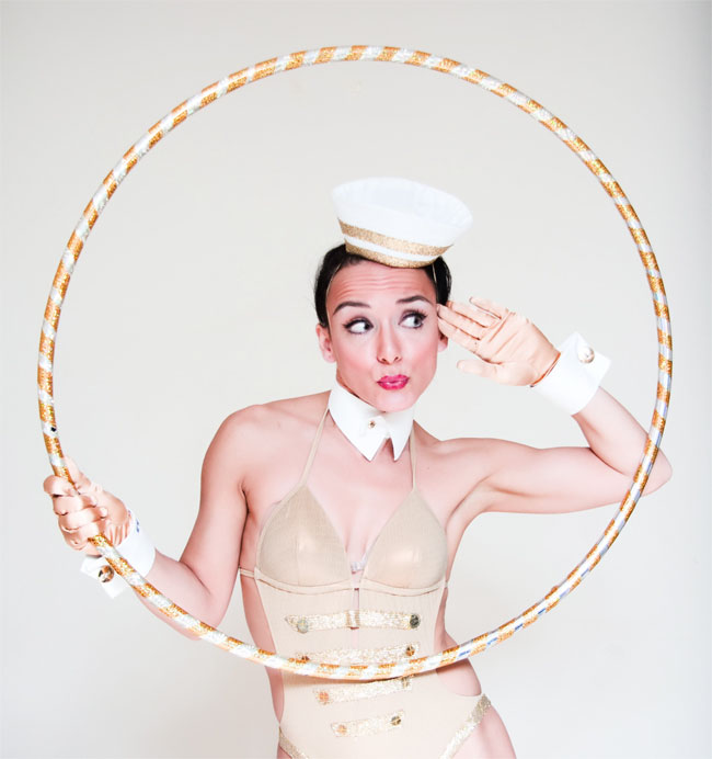 Abigail Collins will perform at the Hebden Bridge Burlesque Festival 2014.   ©Matt Ricardo