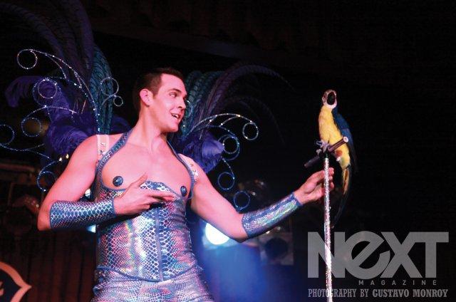 Mr Gorgeous at the New York Boylesque Festival 2014.  ©Gustavo Monroy