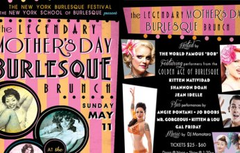 Burlesque Legends and Sensational Supporting Cast at Mother's Day Burlesque Brunch