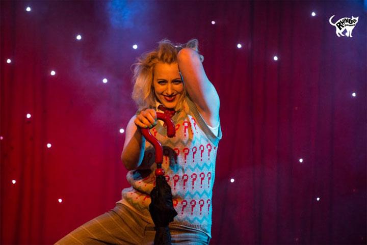 Lena Mae in Cabaret Roulette. ©Rhinoa's Photography