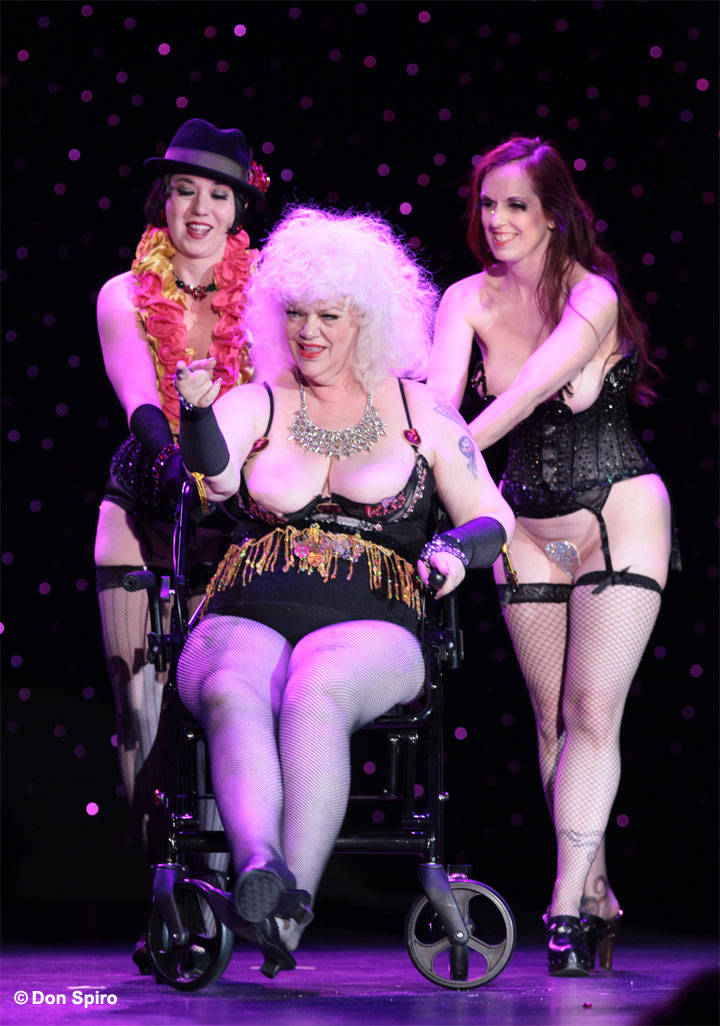 Holiday O'Hara at the 57th Annual Titans of Tease Reunion Showcase at the Burlesque Hall of Fame Weekend 2014. ©Don Spiro
