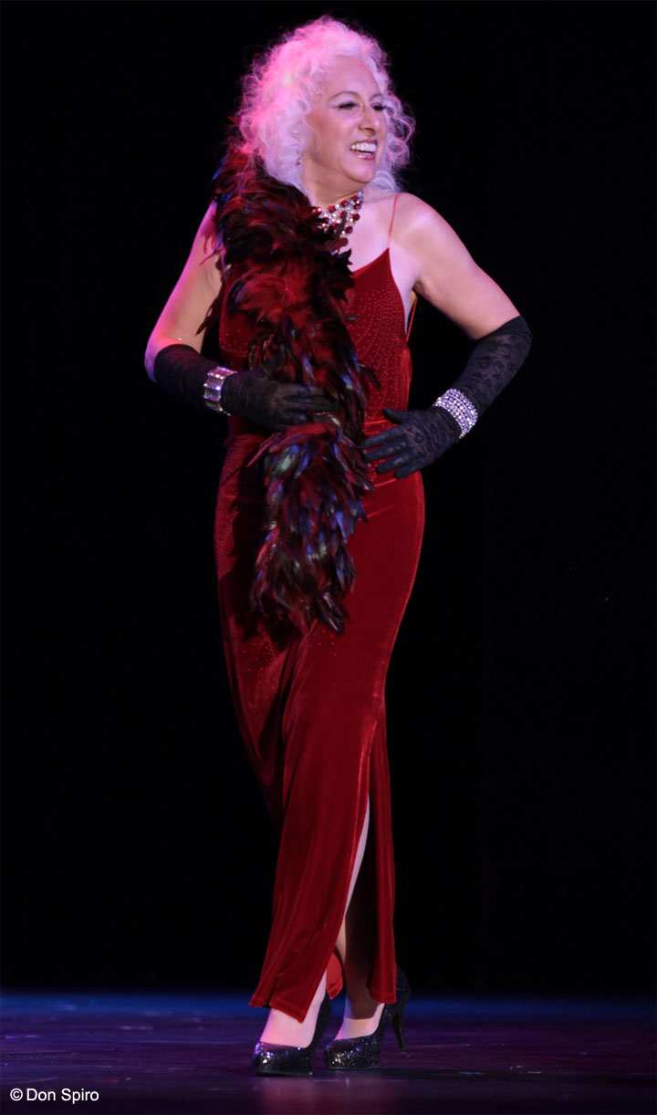 Viva La Fever at the 57th Annual Titans of Tease Reunion Showcase at the Burlesque Hall of Fame Weekend 2014. ©Don Spiro