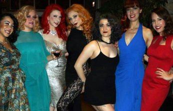 Miss Vampfire at Michelle L'amour's Stripper's Holiday 2014