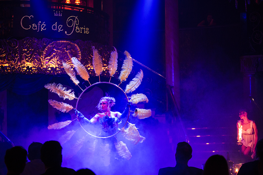 WIN: Luxury VIP Dinner and Show Tickets at Cafe de Paris (London, UK)