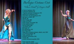 The Cost of Burlesque - Dangrrr Doll