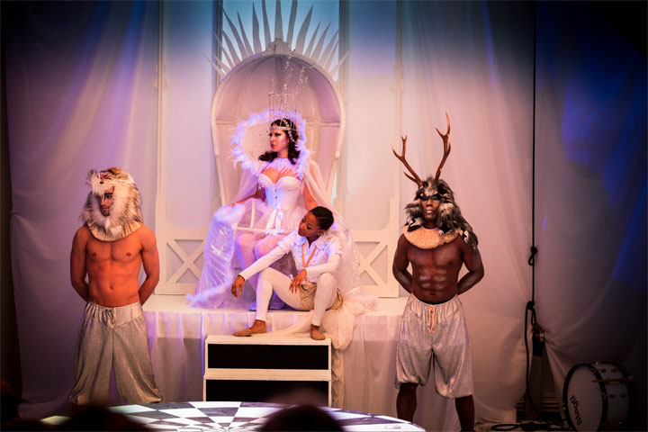Review: Palace of the Snow Queen (Looking Glass Productions).  ©Jason Moon