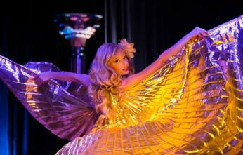 Goldie Candela, Austin. ©James Cano (A Teasetastic Tour of Texas Burlesque)