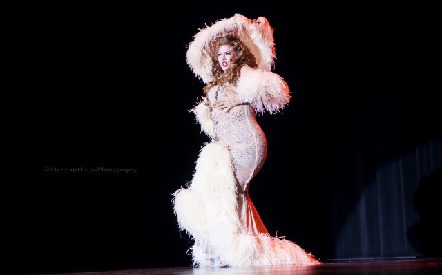 Alyssa Kitt at the Burlesque Hall of Fame Weekend Tournament of Tease in The Orleans Showroom, Las Vegas. ©Chris Harman/Harman House Photography for 21st Century Burlesque Magazine. Not to be used without permission.-