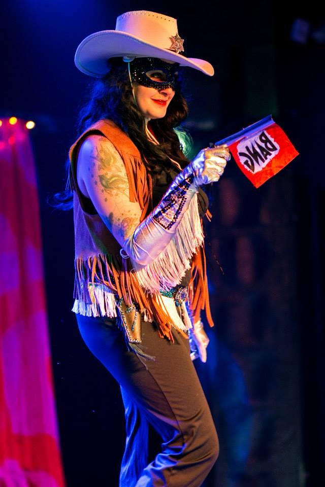 Rosie Rawhyde, Corpus Christi.  ©Jason Page   (A Teasetastic Tour of Texas Burlesque)
