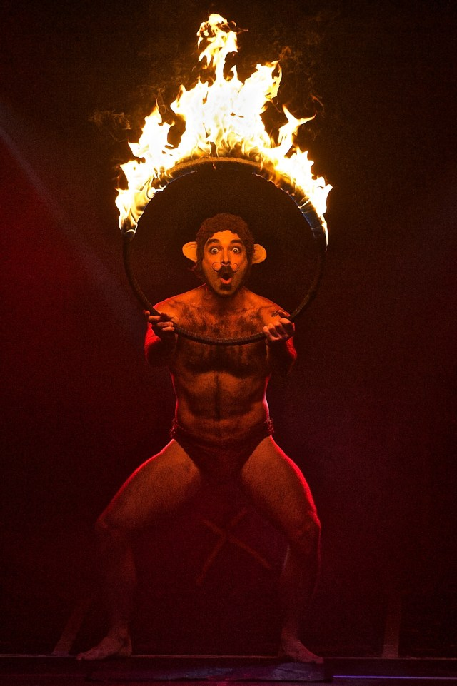 Evil Hate Monkey in BRIEFS at London Wonderground 2015. ©SGDL