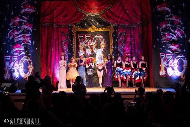 Curtain Call at Kinky & Quirky in Torquay, Devon. Photo by Alex Small