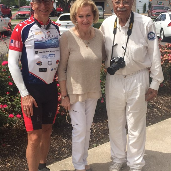We stopped for lunch in Oklahoma City with Pamela Bale, long-time friend and OKC resident.