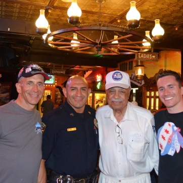 With officer Martinez, Wilk and YDH