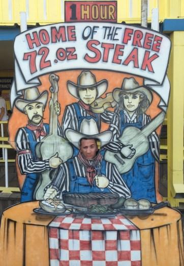 The Big Texan Steak Ranch.