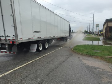 Another reason to stay away from those 18 wheelers.