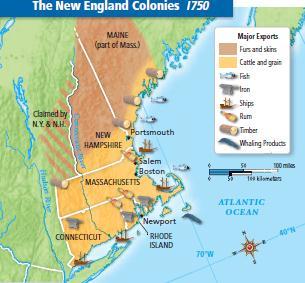 Political Economic Social New England Colony