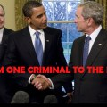 DOJ wants Bush, Senior White House members exempt from 'war crimes' in Iraq