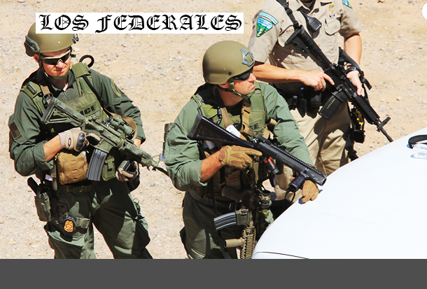 Part 2: BEHIND THE LINES - More Photos of 'DC Federales' - Preparing to Shoot Americans?