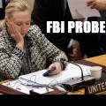 Hillary Clinton Now Under Criminal Investigation by FBI and Department of Justice