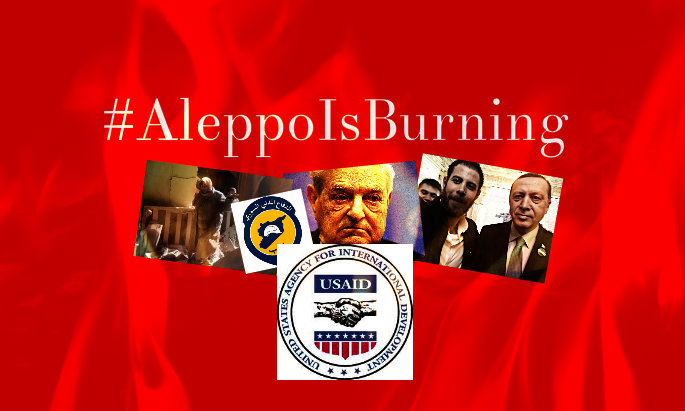 SYRIA: #AleppoIsBurning Campaign Created by US and NATO to Facilitate a