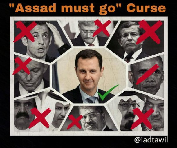 Assad must go Clowns